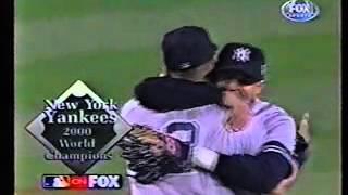 Luis Sojo winning hit game 5 2000 World Series