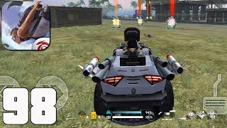Free Fire: Battlegrounds - Gameplay part 98 - Death Race BOOYAH! (iOS, Android)