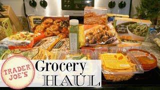 TRADER JOE'S GROCERY HAUL | HEALTHY + INDULGENT FAVES | XoJuliana