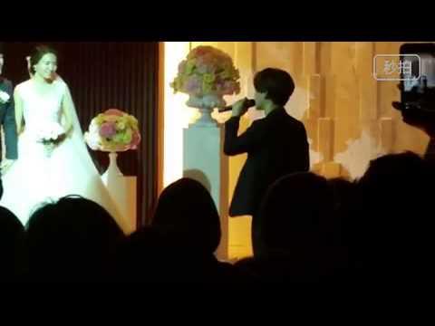 150606  Chen Singing At SM Staff's Wedding Best Luck