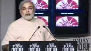 Narendra Modi speech at India Today Conclave 2008