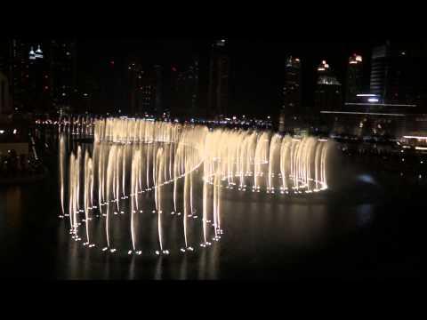 Dubai Fountain Show : Whitney Houston - I Will Always Love You [hd] video
