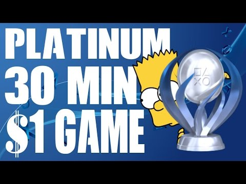 Easiest FASTEST CHEAPEST PS4 Platinum Trophy EVER $1 30 MINS