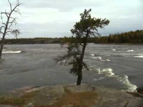 Whiteshell Park sturgeon falls Winnipeg River Manitoba Canada History Hudson Bay Fur Trade route