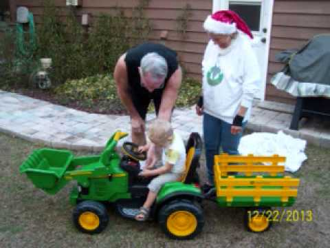 Sebastian Big Green Tractor video