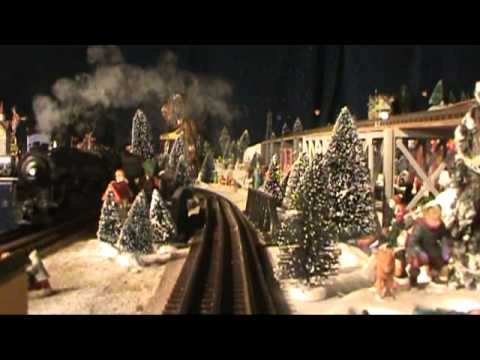Christmas Train Village - 2010 (Livingston, TX)
