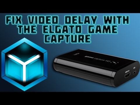 How to FIX the video delay while streaming with the Elgato Game Capture HD
