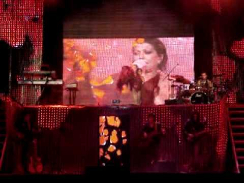 ALEJANDRA GUZMAN VILLAFLORES CHIAPAS 16 ENERO 2010 ROSAS ROJAS Video