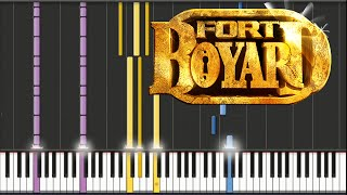 Paul Koulak - Fort Boyard Theme | Piano Tutorial