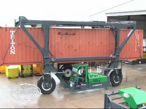 Combilift 3 Wheel Straddle Carrier