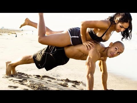 HOT Fitness couple KILLER WORKOUT!!!
