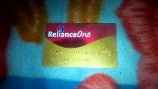 Reliance One Reward Membership Card