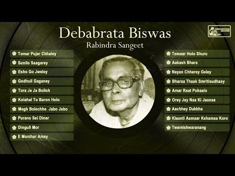 Best Of Rabindra Sangeet By Debabrata Biswas | Debabrata Biswas Hit Songs video