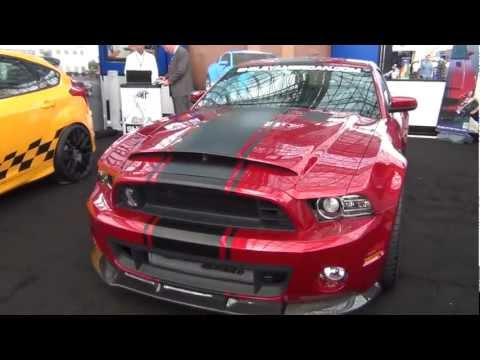 Widebody 2013 Shelby GT500 Super Snake 2013 New York Auto Show