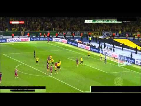 Borussia Dortmund vs Bayern Munich Extra Time (0 - 2) DFB POKAL May 2014