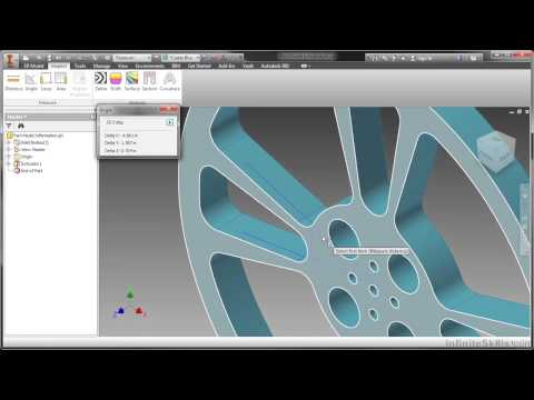 Autodesk Inventor 2014 Tutorial | Part Model Information