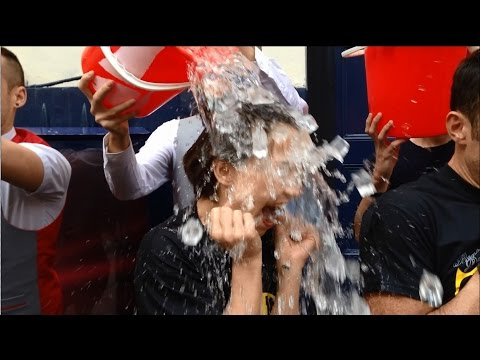 Ice Bucket Challenge - Cast from Charlie & The Chocolate Factory