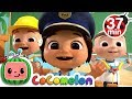Jobs And Career Song +More Nursery Rhymes & Kids Songs   CoCoMelon