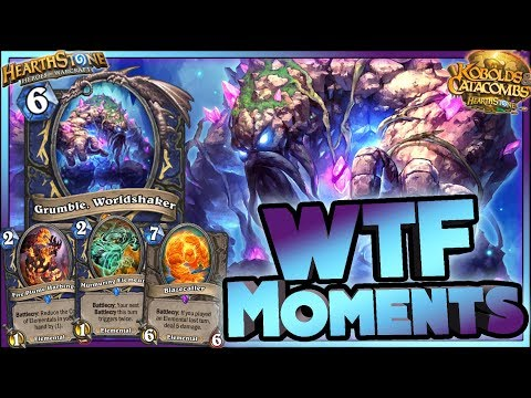 Hearthstone - Kobolds WTF Moments OTK - Funny and lucky Rng Moments