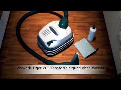 Neu vorwerk tiger 265 fensterreinigung ohne wasser in 3 schritten youtube - Aspirateur serpillere vorwerk ...