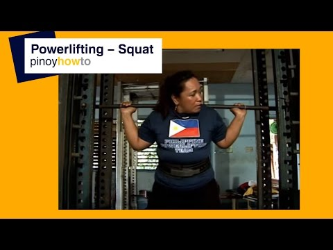 Powerlifting - Squat Image 1