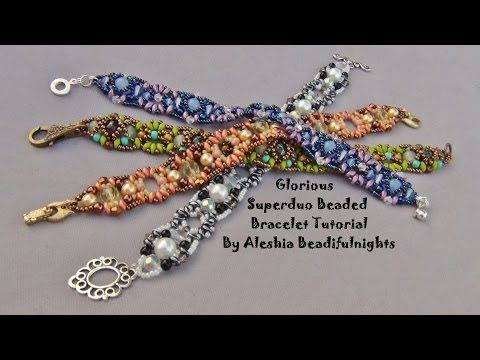 Glorious Superduo Beaded Bracelet Tutorial