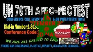 NEW YORK AFRO-MEGA PROTEST 2015