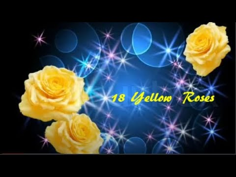 18 Yellow Roses - Line Dance (Demo & Walk Through) Video