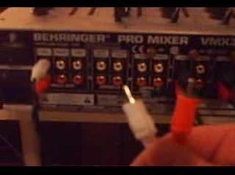 back to basics 1 hooking up your dj mixer youtube