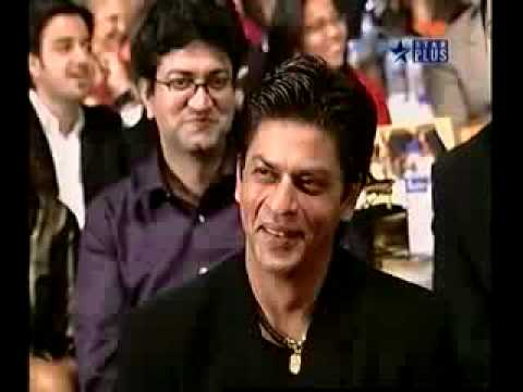Sajid Khan Joking with SRK & Rani Mukherjee at Screen 2005