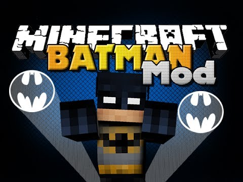 Minecraft Mod - Batman Mod - New Armor. Items and EXPLOSIONS