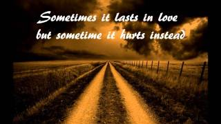 Adele Video - Adele - Someone like you (with lyrics) HQ