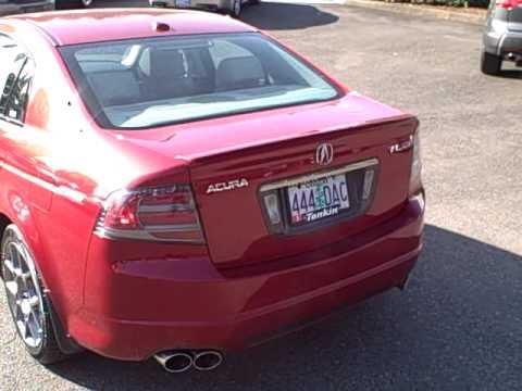 Open Road Acura on 2007 Acura Tl Type S Ron Tonkin Acura    Rare