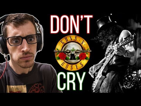 """Hip-Hop Head's FIRST TIME Hearing """"Don't Cry"""" By GUNS N' ROSES"""