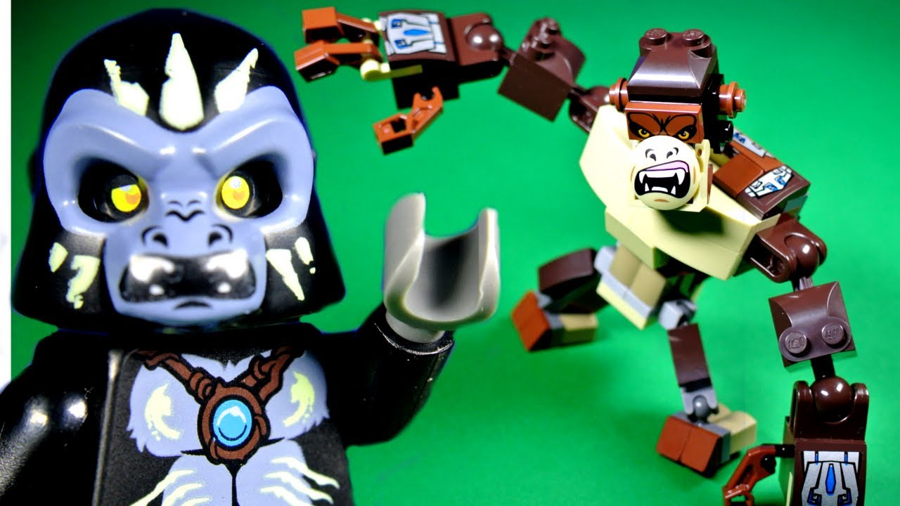 LEGO Chima 70125 Gorilla Legend Beast - YouTube