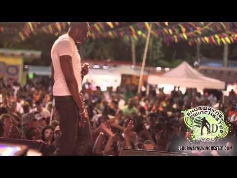 Shurwayne Winchester & Y.O.U. performing in the US Virgin Islands