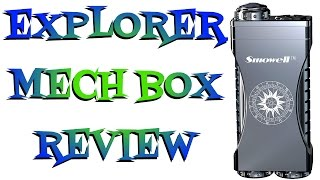 Explorer Dual 18650 Mech  Box By Smowell Review