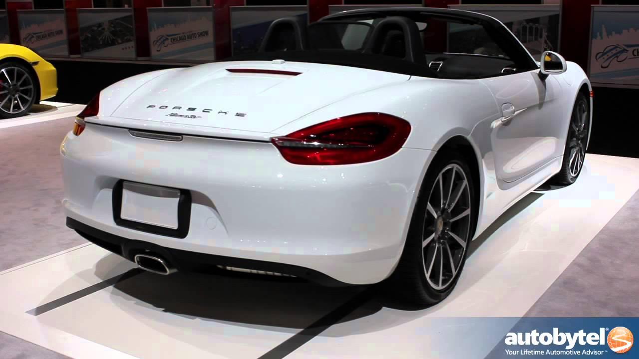 Porsche Boxster 2014 White Porsche Boxster   Chicago