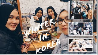 Korea Winter 2018 | Vlog part 1 #FabsXKorea (HONGDAE, SINCHON, GASOMI, ETC)