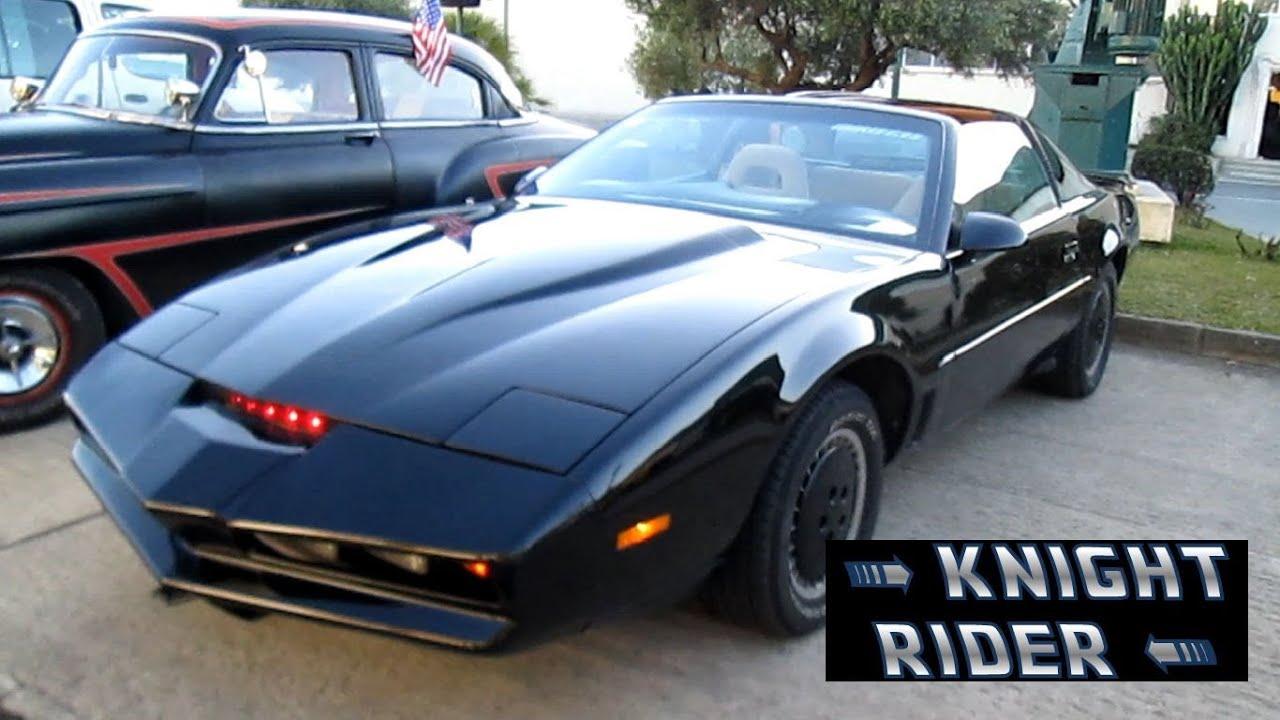 kitt el coche fantastico replica en espa a knight rider youtube. Black Bedroom Furniture Sets. Home Design Ideas