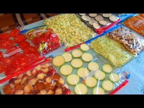 Как правильно замораживать овощи, фрукты и ягоды на хранение
