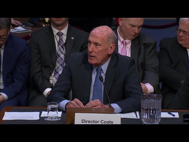 "DNI Dan Coats on North Korea talks: ""Hope springs eternal"""
