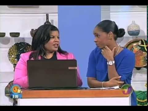 Alicia Lyttle: Interview on TVJ Smile Jamaica: Internet Income Jamaica