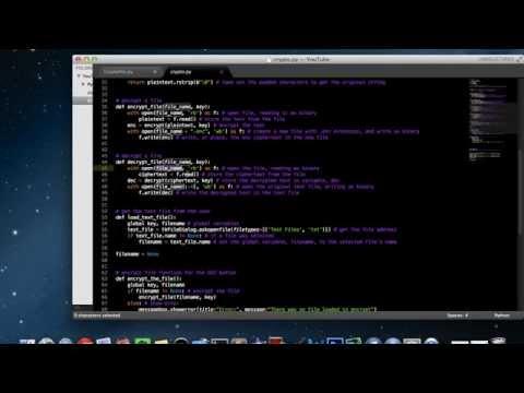 Python PyCrypto GUI App Part 2