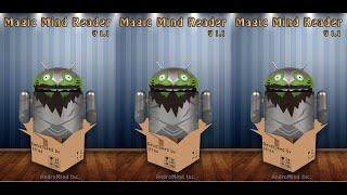Magic Mind Reader (Android App) Demo