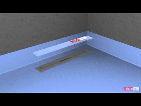 Liquid channel installation
