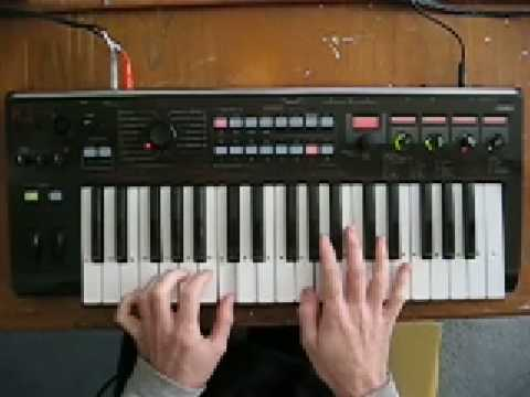 How to play Are Friends Electric? Gary Numan Part #1