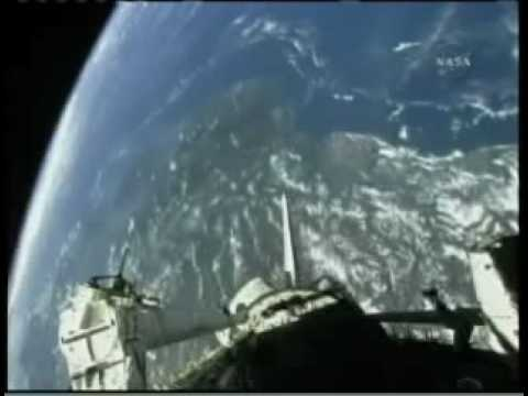 Deployment of ANDE-2 satellites by STS-127