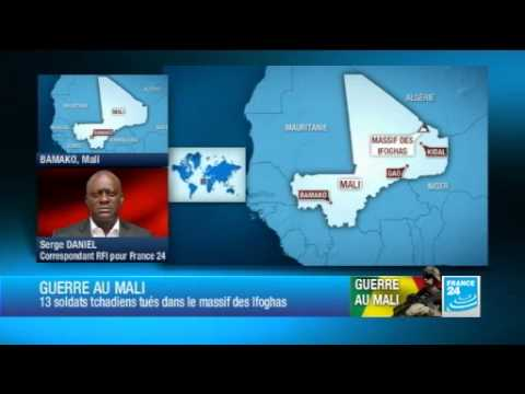 Treize soldats tchadiens et 65 djihadistes tués dans le Nord-Mali