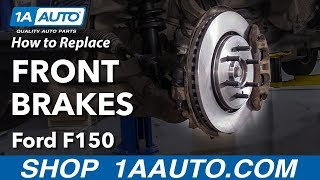 How to Replace Front Brakes 09-14 Ford F-150